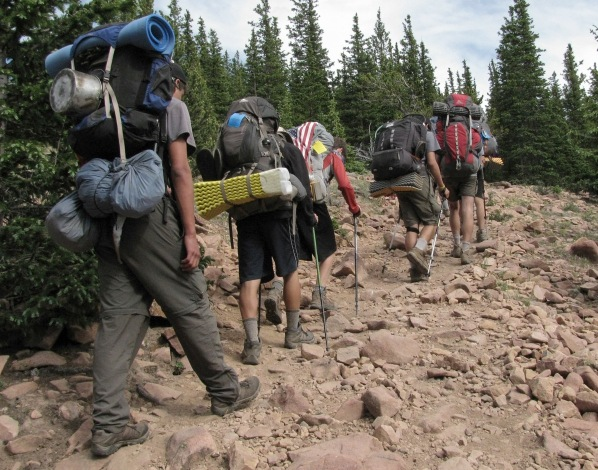 Philmont packs crop