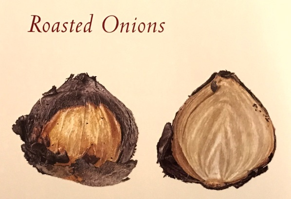 Roasted onions